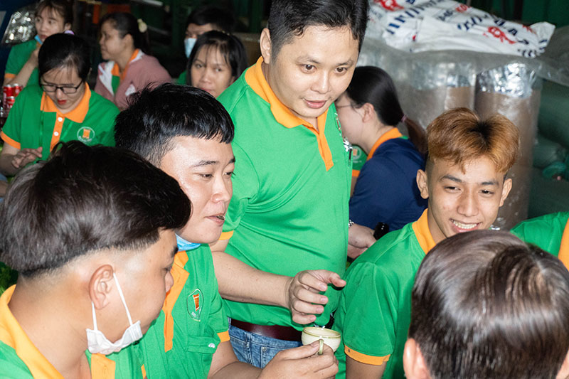 Ông Phạm Hữu Khánh - Giám đốc sản xuất